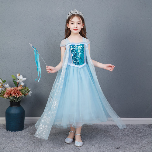 3545子供ワンピース キッズ衣装 ジュニア 女の子ワンピース プリンセス コスチューム コスプレ衣装