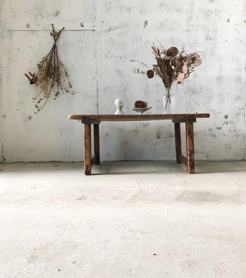 深みのある木製ローテーブル[古家具]