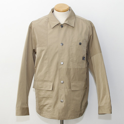 【RVCA】CRAZY PATTERN COACH JACKET (BEIGE)