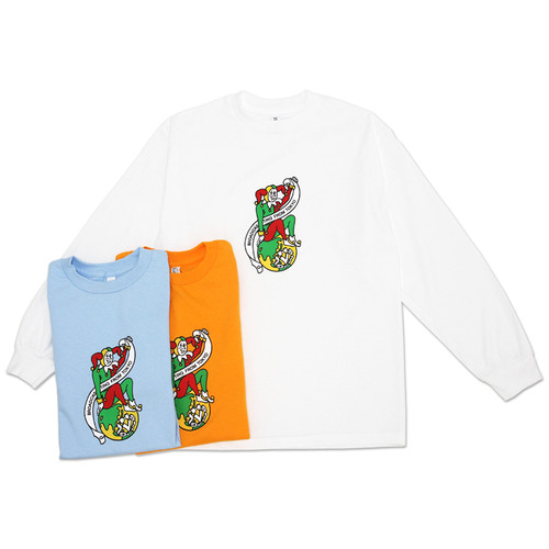VHSMAG CLOWN L/S TEE