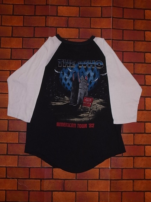 THE WHO 1982 TOUR T-SHIRTS