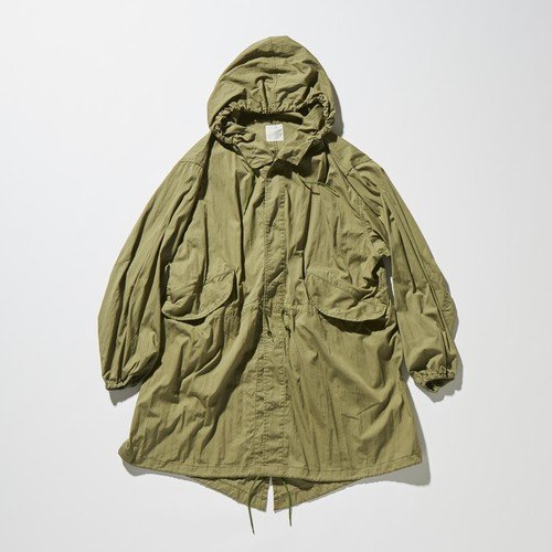 【FILL THE BILL】《UNISEX》MILITARY SNOW PARKER - OLIVE