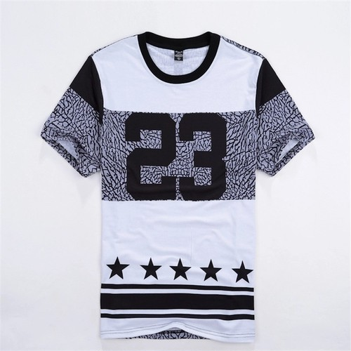 【売り切れ間近】23プリントデザインTシャツ