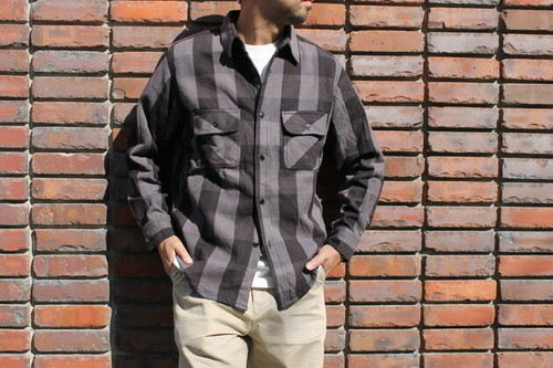BIG MIKE / HEAVY FLANNEL CHECK SHIRTS