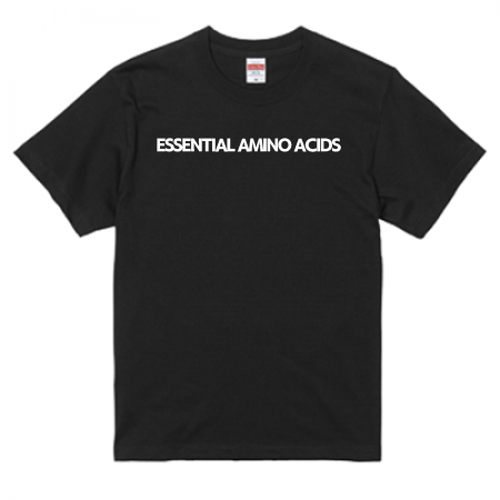 ESSENTIAL AMINO ACIDS T-shirt(BLACK)