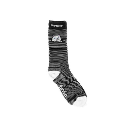 RIPNDIP - Peek A Nermal Socks (Black)