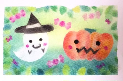 ハロウィン 型紙&描き方動画