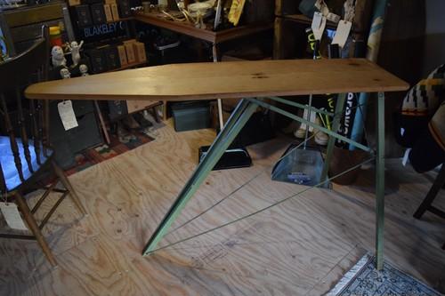 vintage wooden Ironingbard
