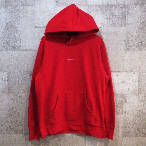 SUPREME 18AW Trademark Hooded Sweatshirt