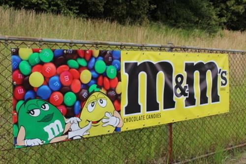M&Ms BigSize Banner (M&Msビックサイズバナー)