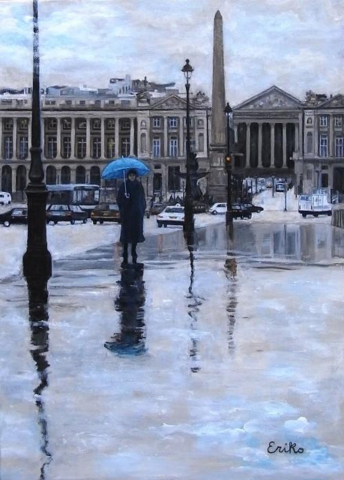 パリと雨と私Ⅱ
