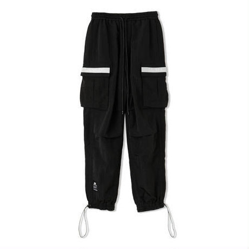 GENERAL PRODUCT Collection Nylon Pants BLACK