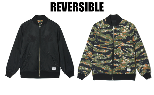 CRIMIE / CR1-02A1-JK02 / REVERSIBLE SKA JACKET CAMO