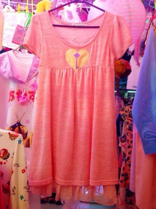 ハートに鍵穴のドレス/魔法都市東京