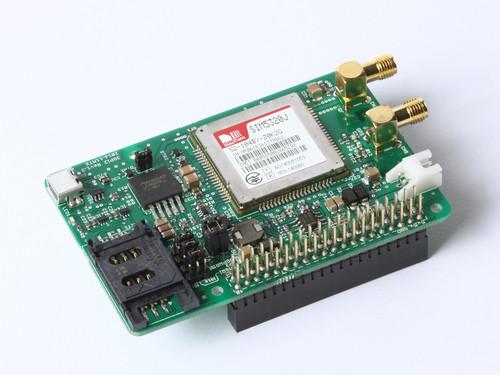 3GPi Ver.2(ラズベリーパイ用3G通信モジュール、Raspberry Pi 3 Model B 対応)