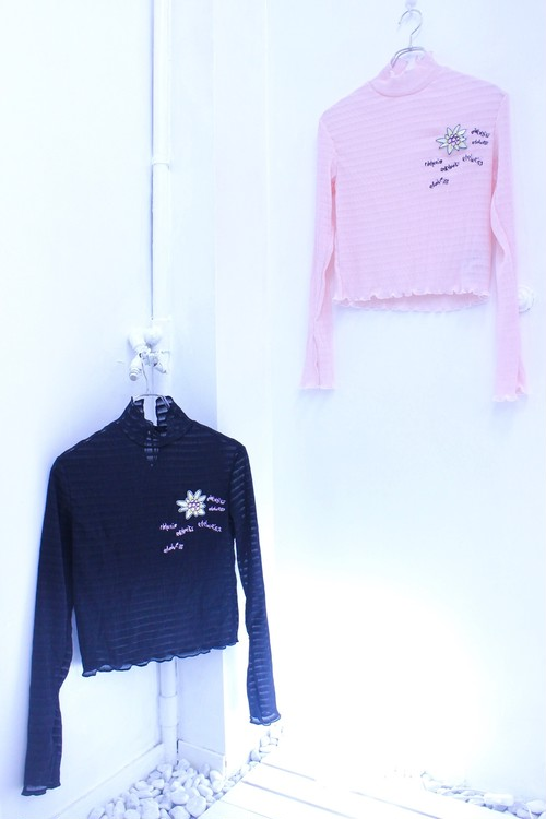 【Somewhere Nowhere】EDELWEISS LONG SLEEVE TOP