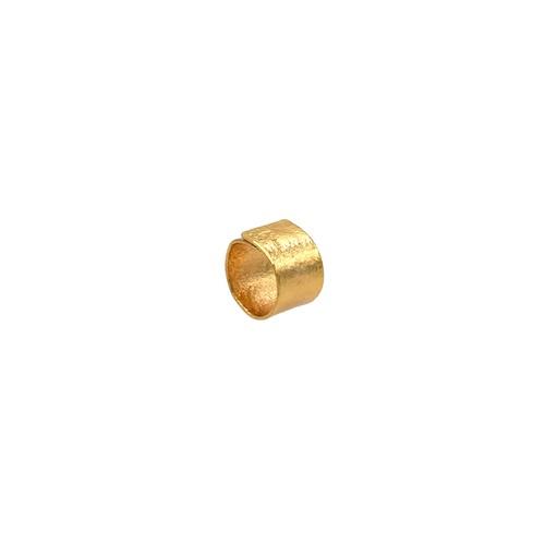 《リング》TIN BREATH Ring 15×80 mm Gold plate