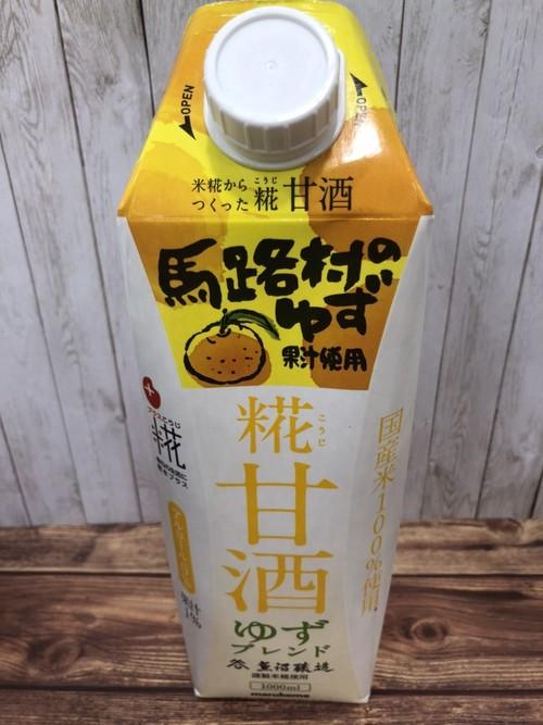 プラス糀 糀甘酒 ゆずブレンド 1リットル