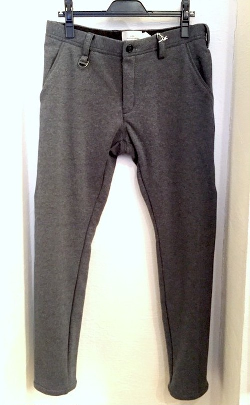 Fleece Tapered Pants Gray