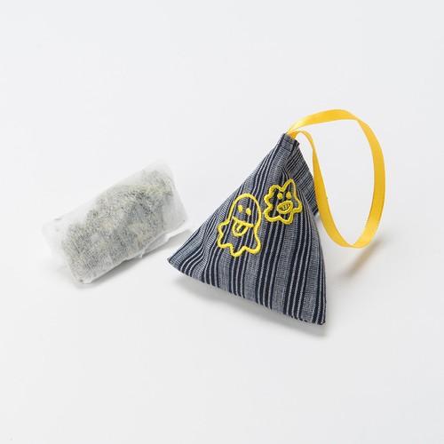 三角ミニポーチ・黄色