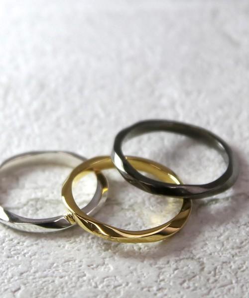 YRGVR1803PM001【YArKA/ヤーカ】silver925 twist ring [taif]/シルバー925 ツイストリング