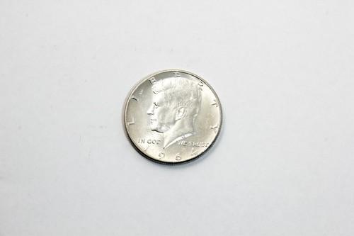 ケネディ ハーフダラー (1964年銀貨)