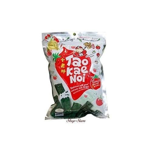 タオケーノイ 味付のり トマトソース味/Tao Kae Noi Crispy Seaweed Tomato Sauce Flavor 40g×10袋