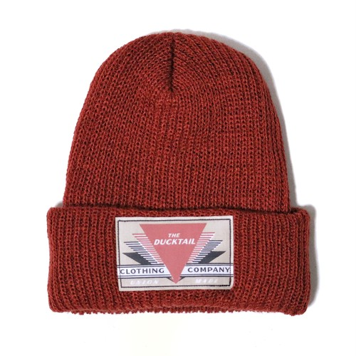 """DUCKTAIL CLOTHING KNIT CAP """"REET PETITE"""" RUST ダックテイル クロージング ニットキャップ"""