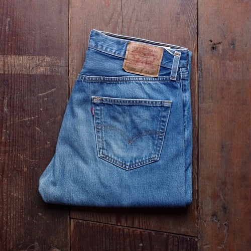 1990s Levi's 501 5Pocket Jeans / Made in USA !! リーバイス アメリカ製 W33