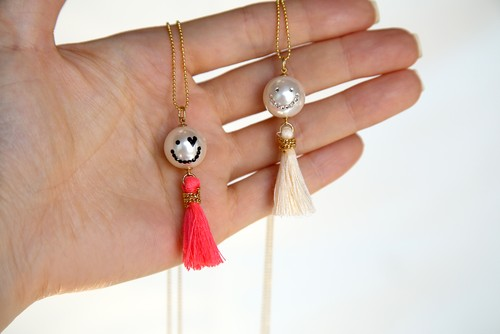 PearlSmile tassel necklace