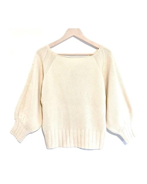 【50%OFF】BRISEMY Bulkey dolman knit ブライズミー バルキードルマンニット