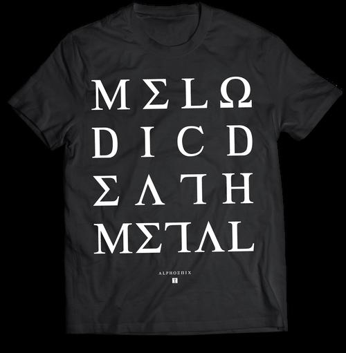 """Alphoenix """"MDM II"""" BLACK T-Shirt"""