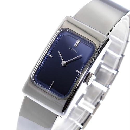 セイコー SEIKO 手巻き レディース 腕時計 ZWB15 ネイビー/オーロラ ネイビー