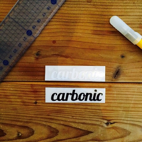 carbonic cutting sticker (S)