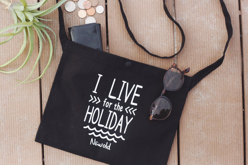 HOLIDAY Shoulder Bag(Black)