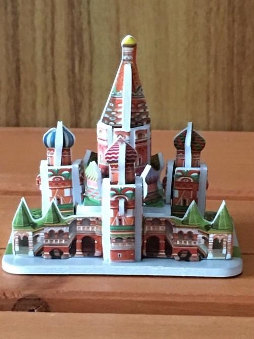 3Dパズル「聖ワシリイ大聖堂」