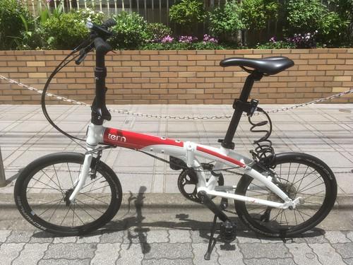 tern Link N8 折りたたみ自転車