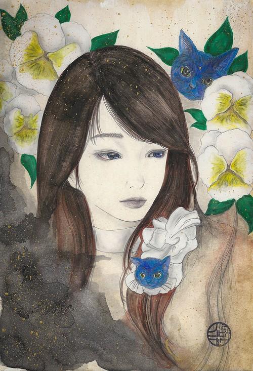 原画「春よ、夢うつつ」