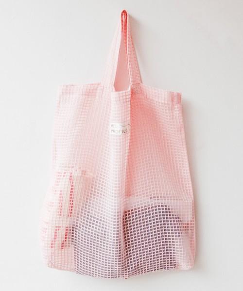 シースルー・トートバッグ/ピンク