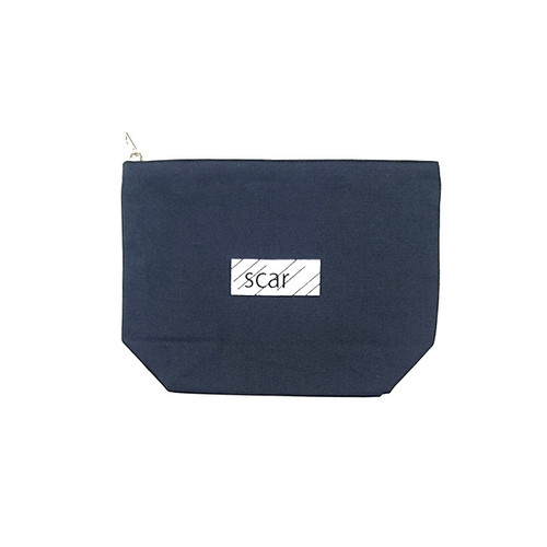 scar /////// BLACKBOX DAILY POUCH (Medium) (Navy)