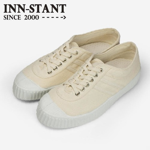 #802 CANVAS SHOES-NEO natural/natural(white sole) INN-STANT インスタント 【税込・送料無料】