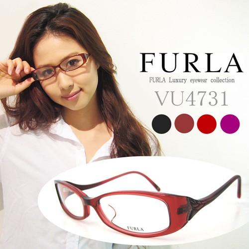 フルラ メガネ FURLA 眼鏡 VU4731j ジャパンフィット モデル レディース 女性用