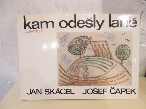 kam odesly lane/ヤン・スカーツェル(Jan Skacel) 詩、ヨゼフ・チャペック(Josef Capek) 絵