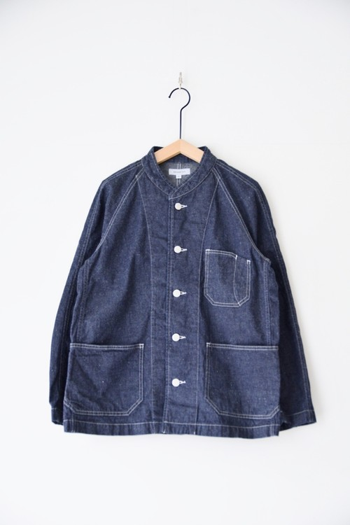 【ORDINARY FITS】DENIM COVERALL 2ND ONEWASH/OF-J018