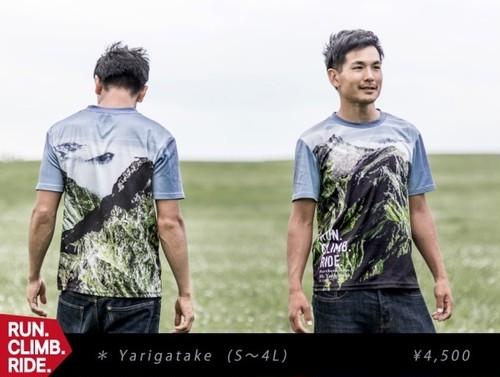 RUN.CLIMB.RIDE. 期間限定Tシャツ<Yarigatake>