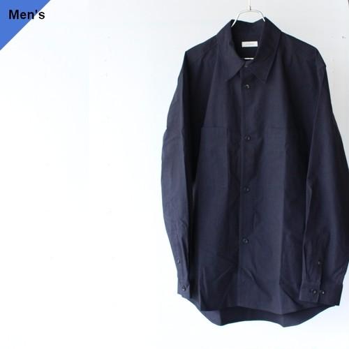 THE HINOKI ザヒノキ コットン馬布ルーズフィットシャツ TH20W-7 ネイビー