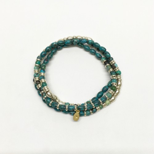 amp japan/Turquoise & Metal Beads