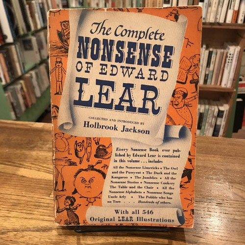 the Complete NONSENSE OF EDWARD LEAR / Holbrook Jackson