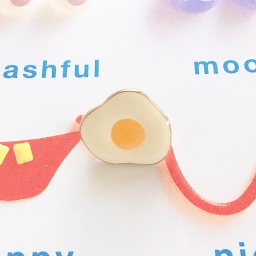 Pin Badge / Fried egg