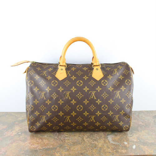 .LOUIS VUITTON SPEEDY35 M41524 SP0917 MONOGRAM PATTERNED BOSTON BAG MADE IN FRANCE/ルイヴィトンスピーディ35モノグラム柄ボストンバッグ 2000000049144